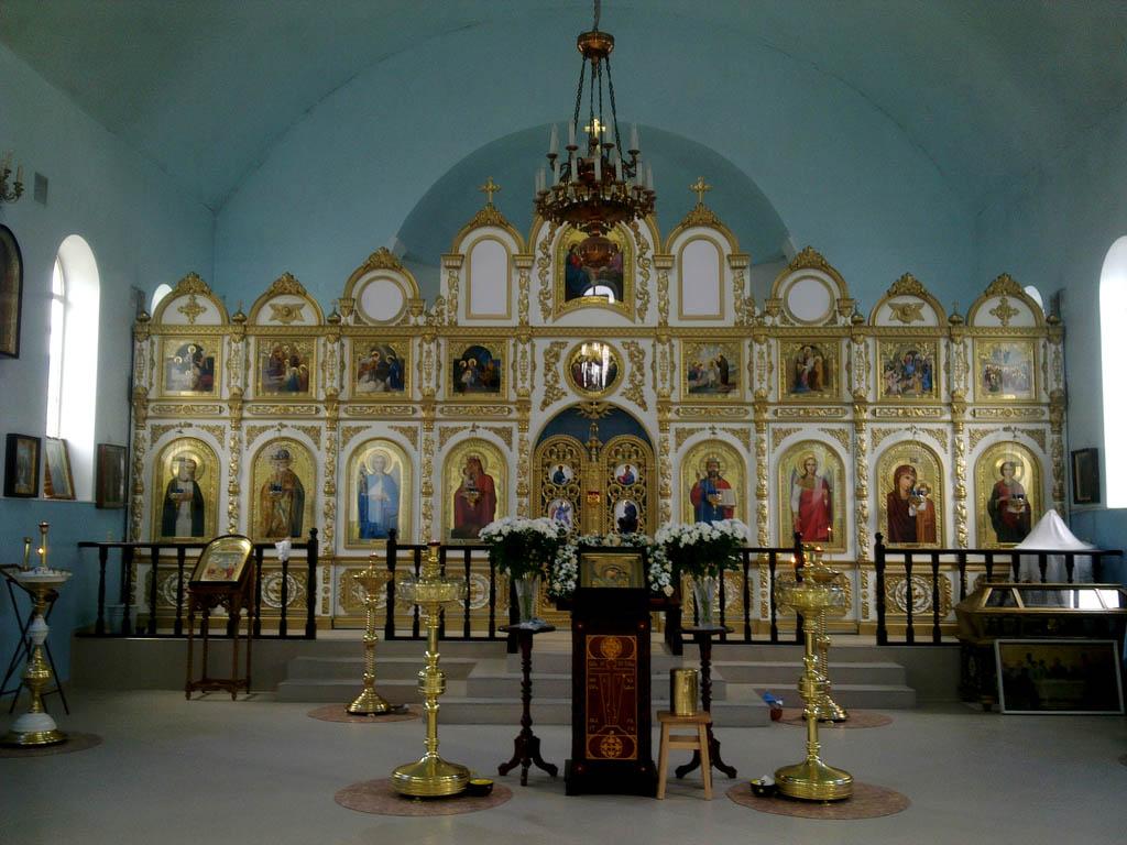 Иконостас Казанского храма г.Крымск